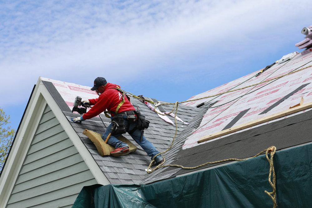 roof repair tarp